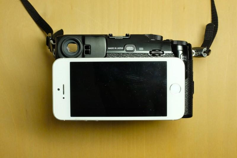 iPhone5sとのサイズ比較