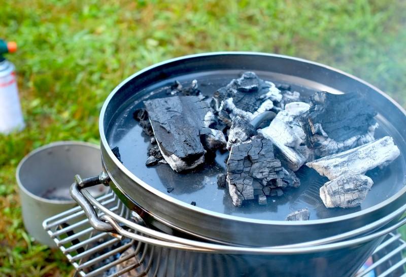 ダッチオーブン|上火のかけかた