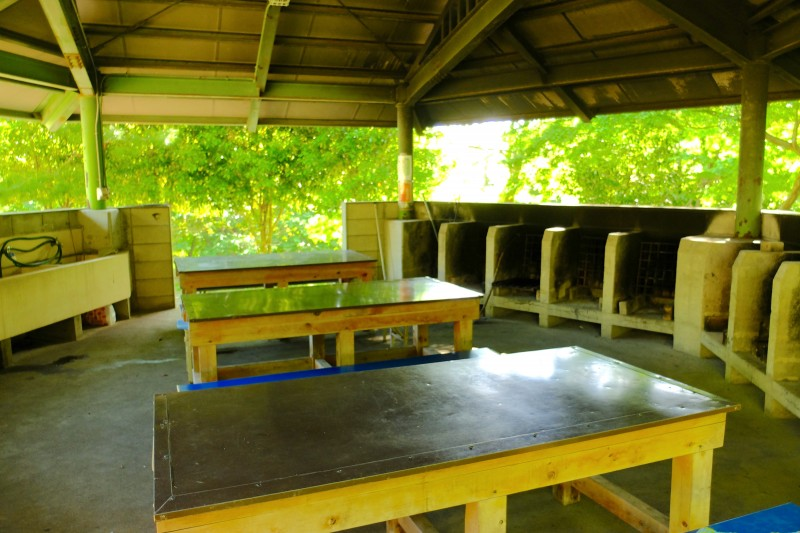 養老キャンプセンター|屋根付バーベキュー場