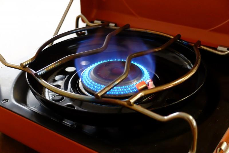 イワタニ カセットフーマベラス|火の様子