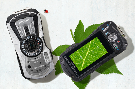 RICOF|WG-40のデジタル顕微鏡モード