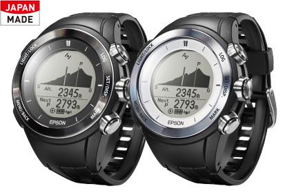 EPSON|Wristable GPS/MZ-500B
