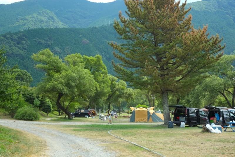 くのわき親水公園キャンプ場|フリーサイト