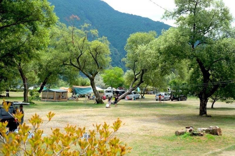 くのわき親水公園キャンプ場|D区画