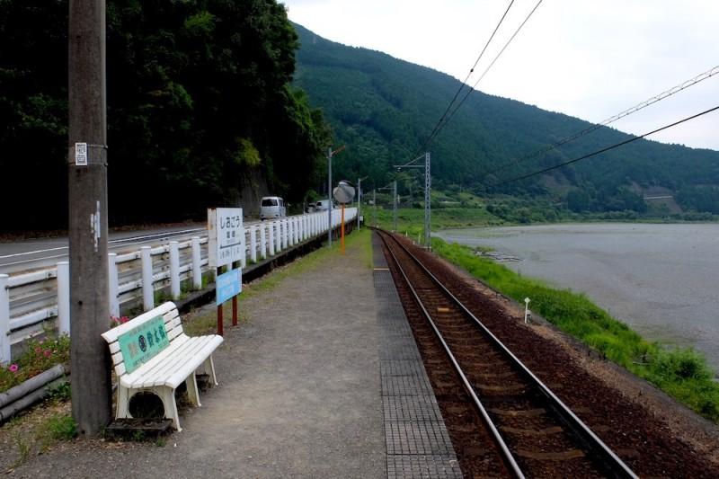 大井川鉄道|塩郷駅