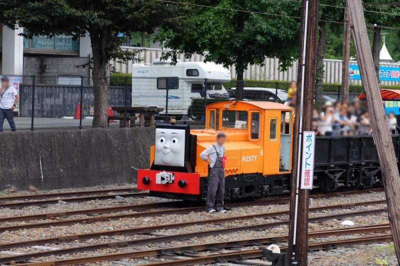 トーマスフェア|ラスティーの遊覧貨車