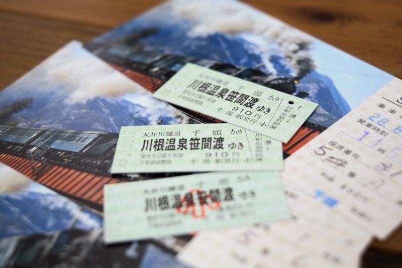 大井川鉄道|切符