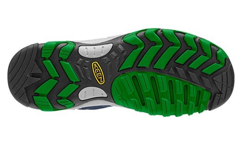 SALTZMAN WP(KEEN〉|靴底のデザイン