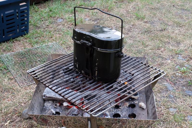 飯盒炊さん|はじめチョロチョロ