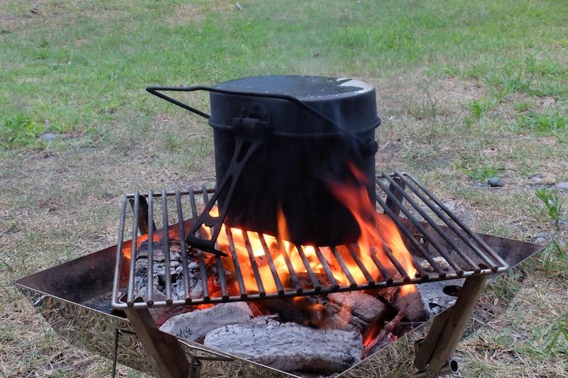 飯盒炊さん|しあげチロチロ