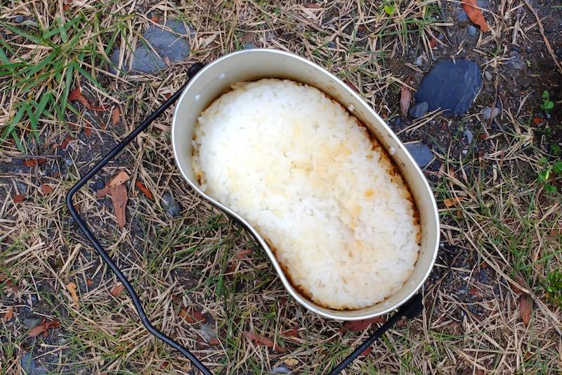 飯盒炊さん|炊きあがり