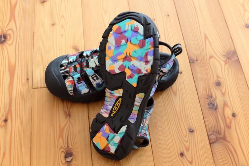 NEWPORT H2(KEEN)|靴底のデザイン