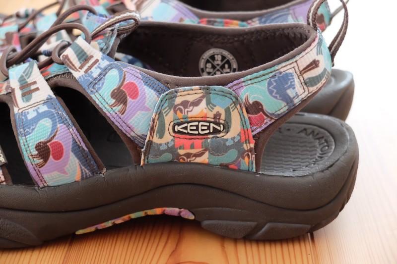 NEWPORT H2(KEEN)|靴底が厚い