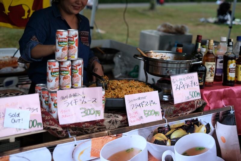 大津ジャズフェスティバル|スリランカ料理の屋台