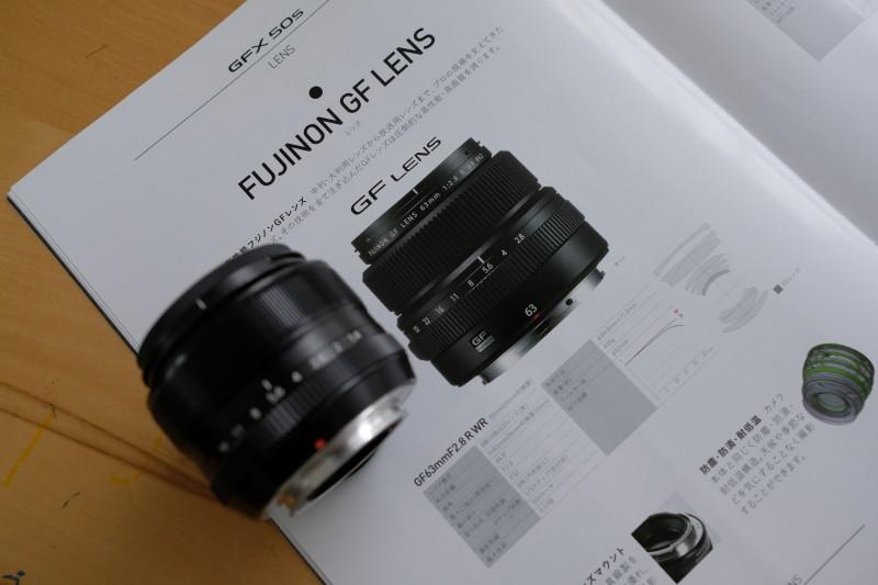 GF63mm F2.8 R WRとXF35mm F1.4 R