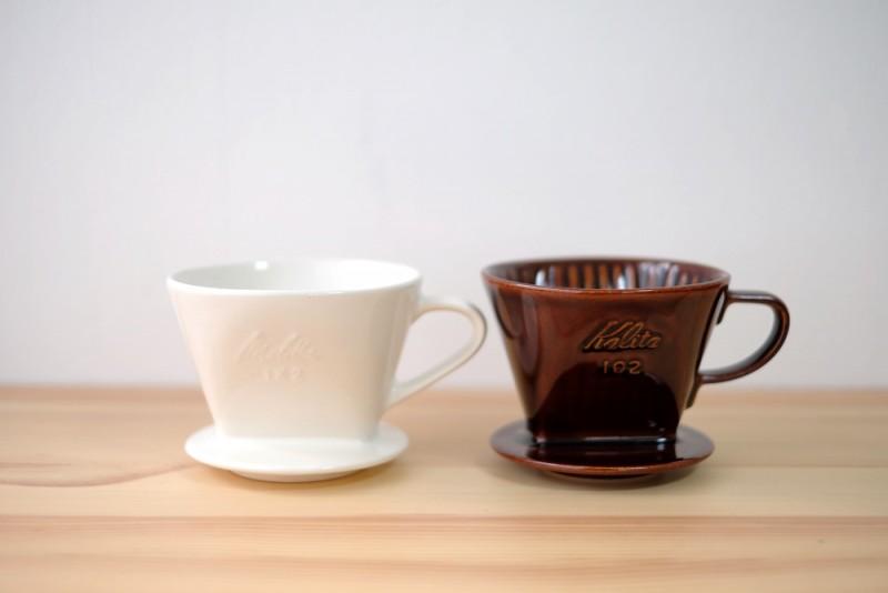 メリタとカリタのコーヒードリッパー