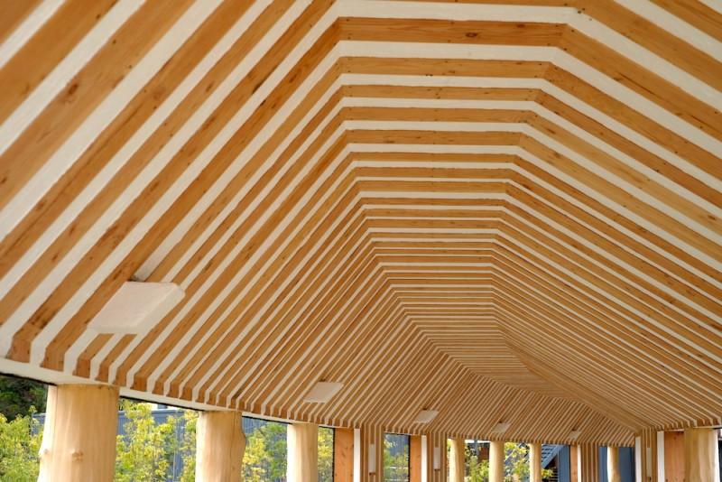 ラコリーナ近江八幡|回廊の屋根