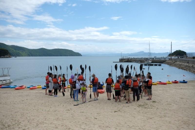小豆島ふるさと村|カヤック教室
