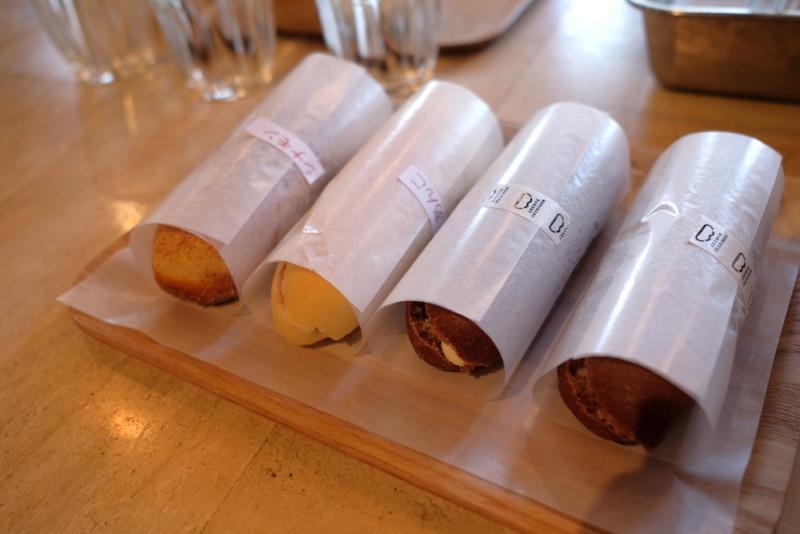 モリクニベーカリー|シナモンの揚げパンとココア