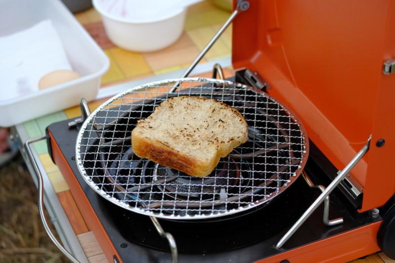 モリクニベーカリー|山食パンをトースト