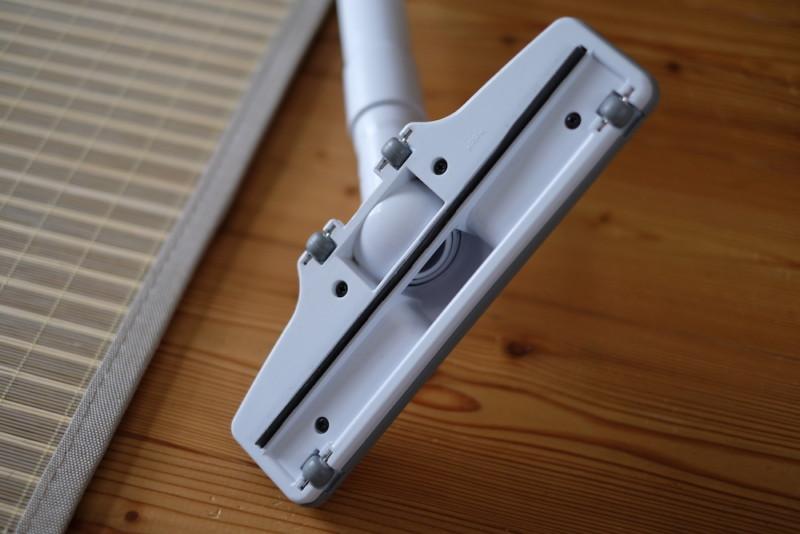 マキタ充電式クリーナーCL142FDZW|ヘッドの裏側