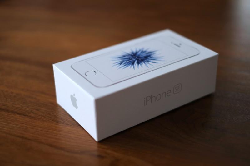 iPhoneSE|外装箱
