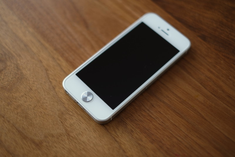 ANKER(アンカー)GlassGuard fo r iPhone5/5s/SE|ホームボタン用プレート(シルバー)