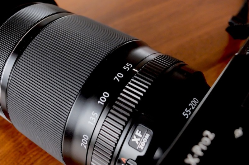 XF55-200mmF3.5-4.5 R LM OIS|各操作リング部分