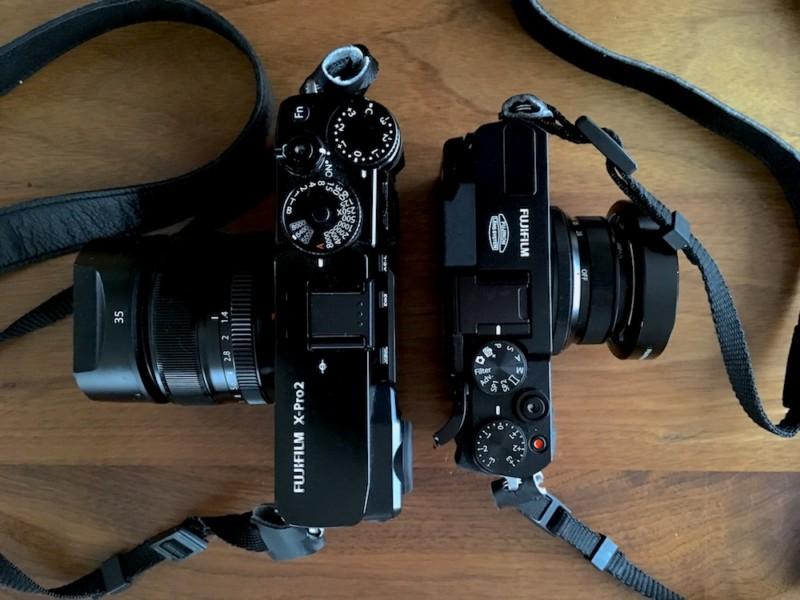 X-Pro2とX30