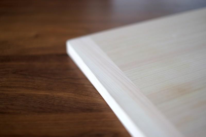 四万十ヒノキの軽量まな板(土佐龍)