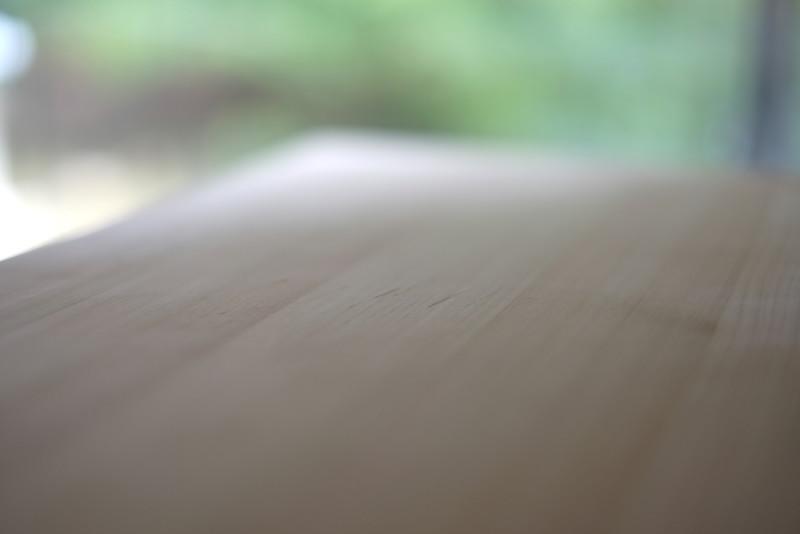 四万十ヒノキの軽量まな板(土佐龍)|傷