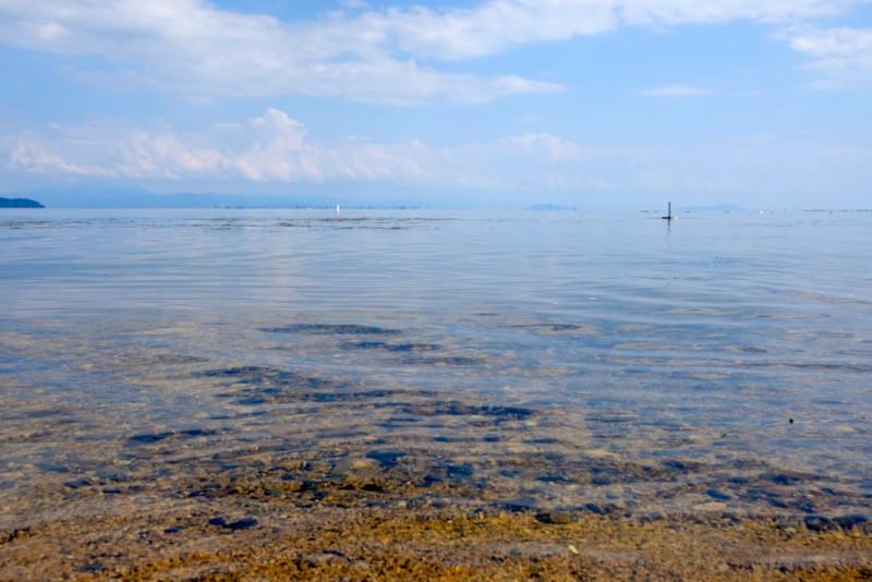 マキノサニービーチ高木浜|水質最高!