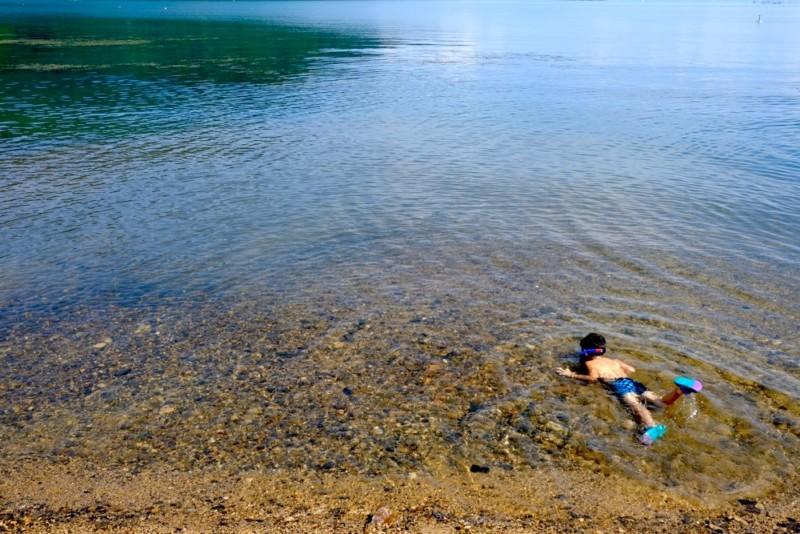 マキノサニービーチ高木浜|水質が最高!