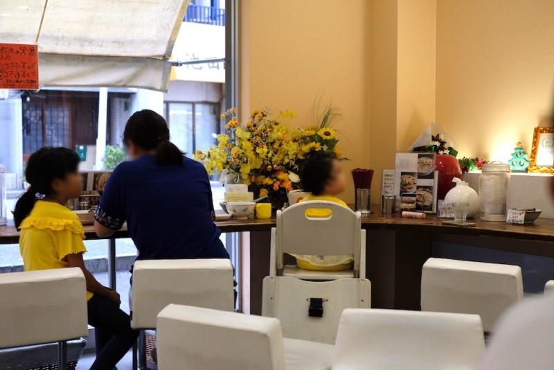 中華そば「高安」(京都・一乗寺)|店内の様子