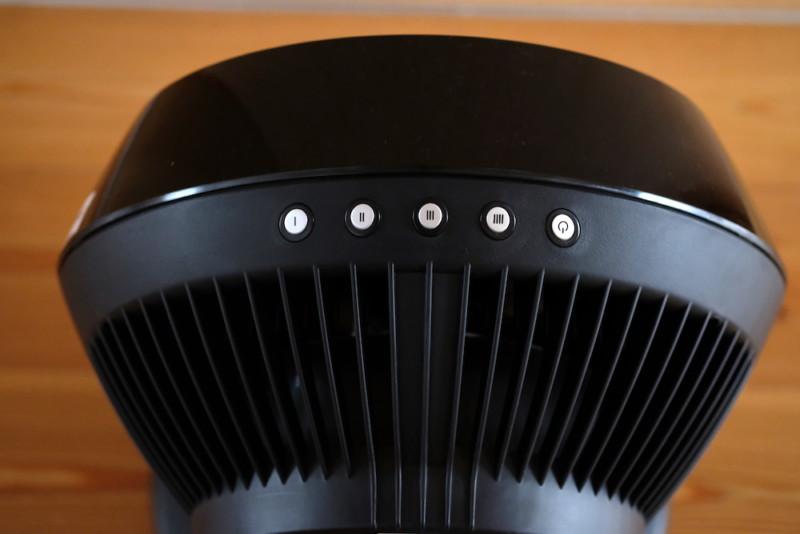 VORNADO(ボルネード)660-JP|電源スイッチ&風量調節ボタン