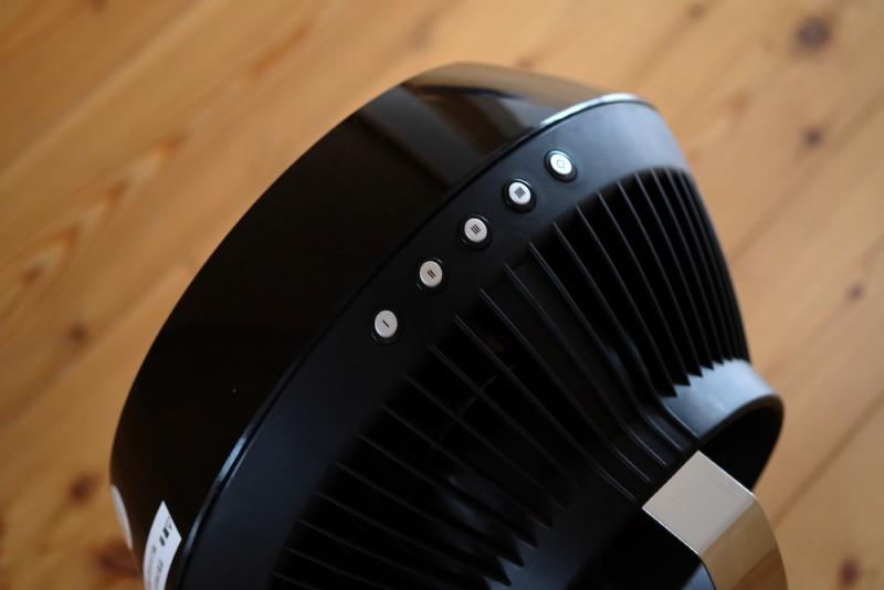 VORNADO(ボルネード)660-JP|電源素スイッチ&風量調節ボタン