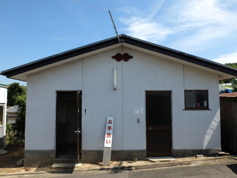 勧修寺観光農園(京都市山科区)|トイレ