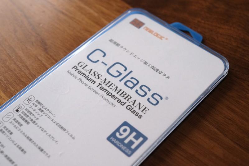 C-GLASS(NEWLOGIC)|iPhoneSE用ガラス保護フィルム