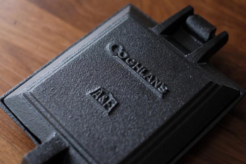 COGHLANS(コフラン)A&Fホットサンドクッカー|上面プレートの刻印