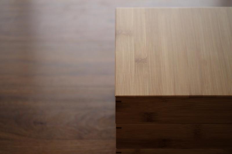 【天然竹製】七寸三段重(みよし漆器本舗)|竹の木目の美しさ