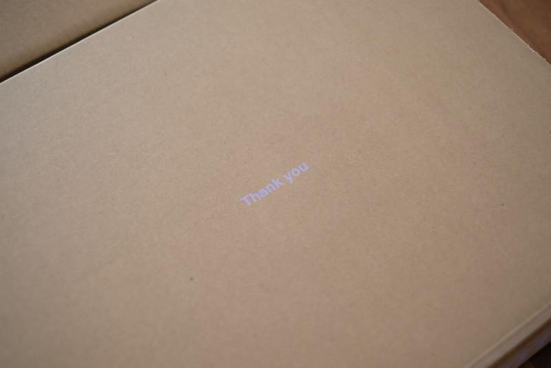 karrimor(カリマー)phantom jkt(ファントムジャケット)|箱の中にTHANK YOUの文字