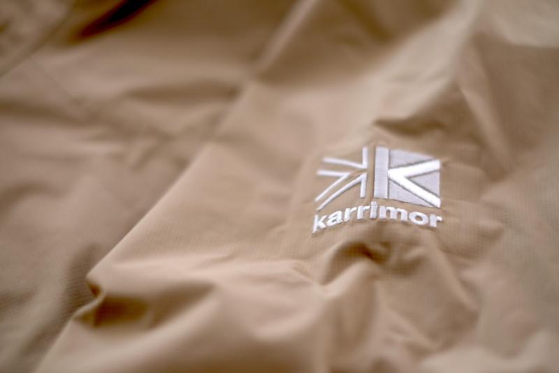 karrimor(カリマー)phantom jkt(ファントムジャケット)|刺繍ロゴマーク