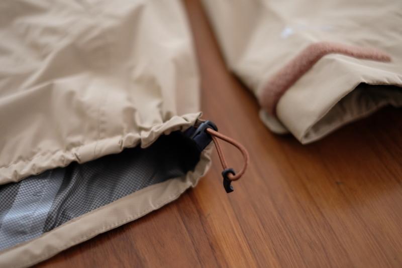 karrimor(カリマー)phantom jkt(ファントムジャケット)|裾部分のドローコード