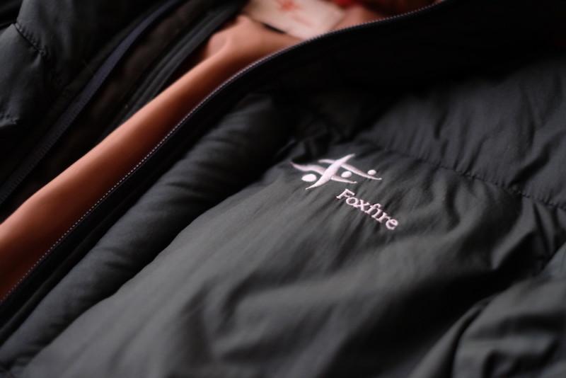 フォックスファイヤのダウンジャケット