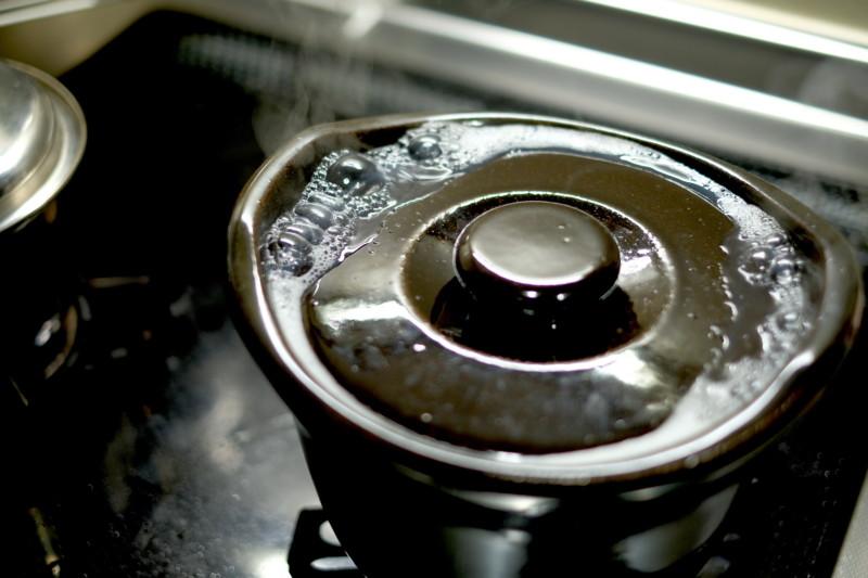 土釜おこげ 3合炊き(無印良品)|炊飯