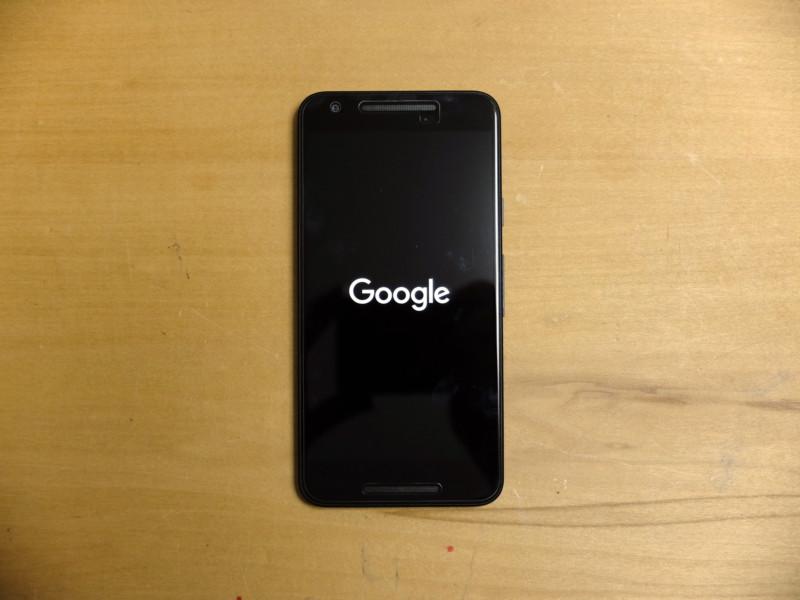Nexus5Xのバッテリー交換|起動