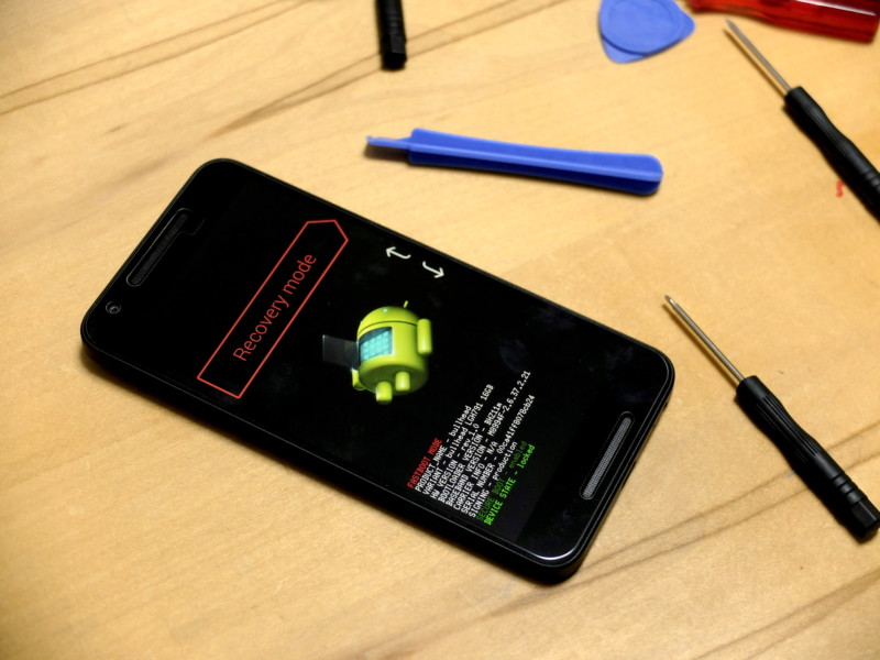 Nexus5Xのバッテリー交換|やっぱり起動しない