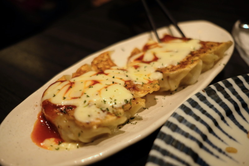 GYOZA OHSHO烏丸御池店|餃子のとろーりチーズ