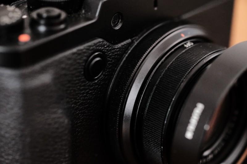 X30(FUJIFILM)|コントロールリングと設定ボタン