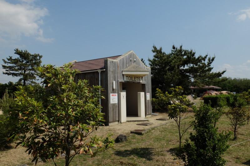 観音寺ファミリーキャンプ場|トイレ
